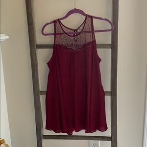 Tunic Tank with Beading details.